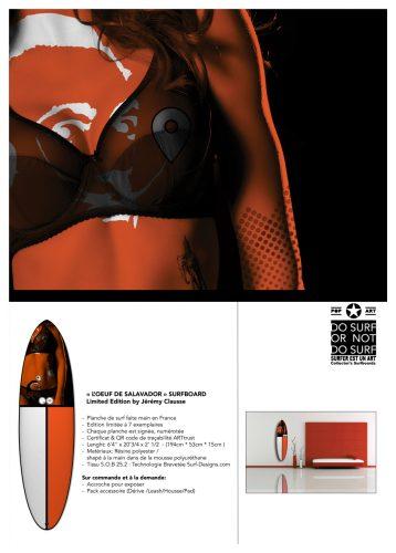 surf art surfboard